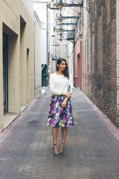 How To Style A Midi Skirt | Lows to Luxe