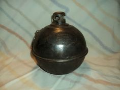 Smudge pots were used by the highway department to light the way in construction zones.