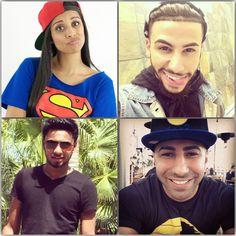 than kiy my nam is natifa i love adam salah He Makes Me Smile, Make Me Smile, Yousef Erakat, Adam Saleh, Lilly Singh, Sheik, Youtube Stars, Best Youtubers, Singles Day