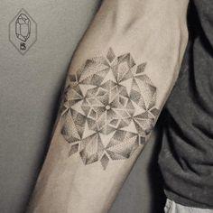 Geometric-Tattoos-Bicem-Sinik-13 | 123 Inspiration