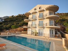 Beautiful duplex top floor apartment with full on sea views over Kas Village and the Islands.