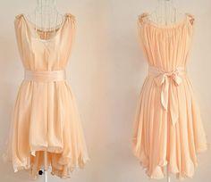 Chiffon dress 085 by YL1dress on Etsy, $59.00