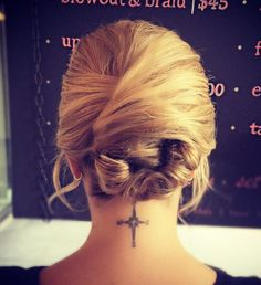 creative messy updo