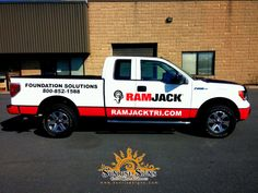Ford Pickup Truck Wraps for Contractors
