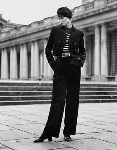 Saskia de Brauw by Alasdair McLellan for Vogue Paris | Nìxí Magazine