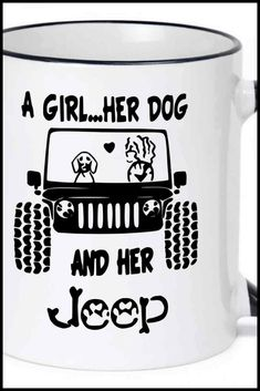 Coffee Cup Mug Travel 11 15 oz Breast Cancer Jeep Grill Save The Headlights