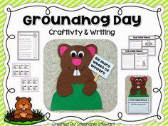 Groundhog Day informational writing + craft