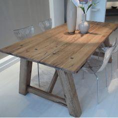 Tavolo rustico in legno di noce epoca \'800 / tavoli / tavoli da ...