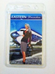 d0bff0def3a Vintage Design Eastern Airlines Stewardess Design by VintageCrew