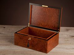Handcrafted Mahogany Keepsake Box by PennerBrothers on Etsy