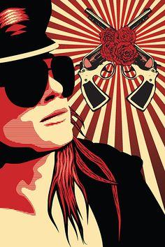 Axl Rose | Tmueller21 | deviantART