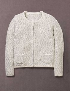 I've spotted this @BodenClothing Sparkle Knitted Jacket Ivory