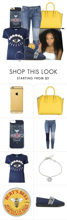 """""""""""they think I'm illuminati with this eye on my kenzo""""👁"""" by zoelh178 on Polyvore featuring Goldgenie, Givenchy, Kenzo and Victoria, Victoria Beckham"""