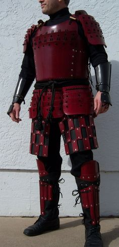 Red Samurai by dale-elad.deviantart.com on @deviantART