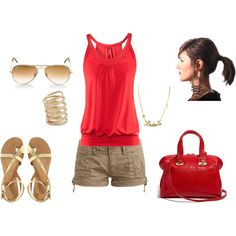maybe different sandals/flats for me instead of those though... possibly a different purse also...