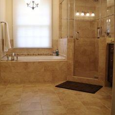 Vienna Master Bath - Shower - traditional - bathroom - dc metro - Synergy Design & Construction