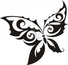 butterfly line drawing - Google Search