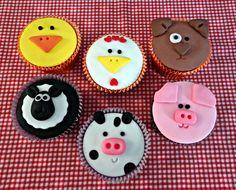 Cupcakes Fazendinha (Grande)