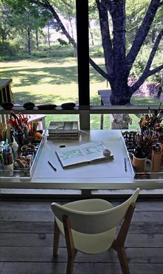 Ah, what I can do w/my porch… screen it in and use it for writing, creating, dreaming.