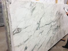 Granite that looks like marble.