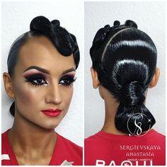 """1,013 Likes, 9 Comments - Sergievskaya Anastasia (@sergievskaya_stylist) on Instagram: """"@varadimartina ✨✨✨ Hairstyle&Makeup by @sergievskaya_stylist #mua #muah #hairstyle #stylist…"""""""
