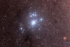 Southern Pleiades or Theta Carinae Cluster: IC 2602 Widefield Color - Nov 20, 2013 | Flickr - Photo Sharing!