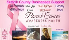 http://main.acsevents.org/site/TR?fr_id=77387&pg=team&team_id=2075860&s_locale=en_US  Suffolk County Businesses Support #Breastcancerawarenessmonth.  Please join us 10/16/16 @ #Jonesbeach for #MakingStridesAgainstBreastCancer and please donate!   http://hairandnailsbyjeannine.webstarts.com/ http://whenstylecounts.webstarts.com/ http://www.escapesbyeveryday.com/destination-weddings-honeymoon.php http://www.jmlphotography.org/   #breastcancer #americancancersociety #October #hair #stylist #co