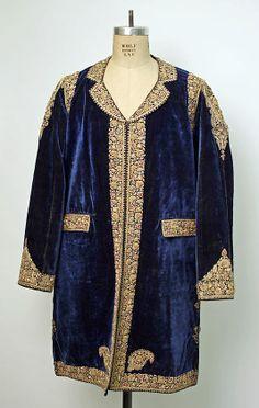 Coat (Choga) Date: late 19th century Culture: Indian Medium: silk