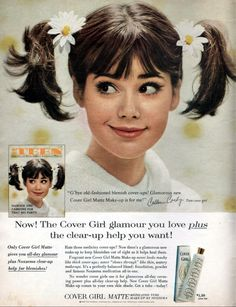 1965 Beauty Ad Cover Girl Matte Make-up with Teen Cover Girl Colleen Corby 1965 Beauty Ad Teen Cover Girl Colleen Corby The post 1965 Beauty Ad Cover Girl Matte Make-up with Teen Cover Girl Colleen Corby appeared first on Vintage ideas. Vintage Makeup, Vintage Beauty, Vintage Advertisements, Vintage Ads, Retro Ads, 1960s Fashion, Vintage Fashion, Teen Fashion, Vintage Outfits