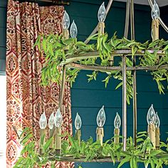 The Lighting - Holiday Home Decorating - Southern Living