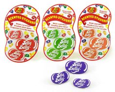 """""""Jelly Belly Sniffers"""" scented plastic stickers by jstaskus, via Flickr"""