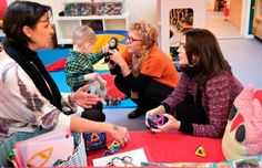 Mary visited the Children ' s house kindergarten SIV