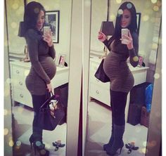 {Dressing the bump} I actually can't wait to really start showing! :)