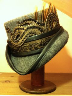 The Kraken Top Hat RESERVED FOR SWAGHAG by Opergeist on Etsy, $120.00