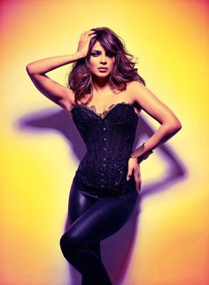 The Beauty and the Beat – Bollywood star Priyanka Chopra takes on rocker glam style for the December cover story of GQ India. Priyanka sports leather, lace, sequins and fringe looks selected by fashion editor Antara Motiwala as she makes the leap from actress to rock star in Martin Prihoda's colorful images.