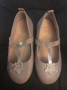 Cherokee Child Shoe  White Bow on Toe NWT