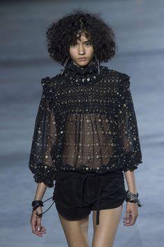 Saint Laurent, Printemps/été 2018, Paris, Womenswear