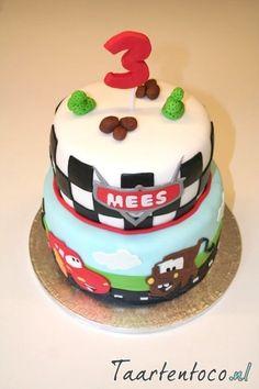 Cars taart  *Cars cake