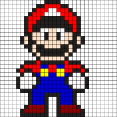 MINECRAFT PIXEL ART – One of the most convenient methods to obtain your imaginative juices flowing in Minecraft is pixel art. Pixel art makes use of various blocks in Minecraft to develop pic… Pearler Bead Patterns, Kandi Patterns, Perler Patterns, Beading Patterns, Pixel Pattern, Pattern Art, Perler Bead Mario, Perler Beads, Crochet Pixel