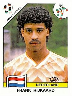 409 Frank Rijkaard - Nederland - FIFA World Cup Italia 1990