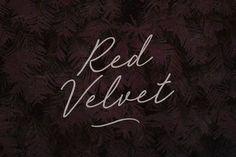 Red Velvet by BLKBK on @creativemarket