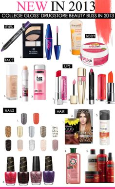 Beauty Consult: New Beauty Products in 2013 | College Gloss