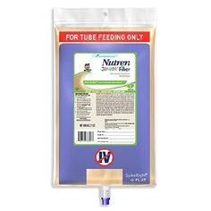 NUTREN Junior Fiber Pediatric Tube Feeding Formula 1000 mL SpikeRight PLUS UltraPak | Nestle Nutrition
