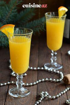 Une recette facile et express de cocktail Mimosa au champagne et au jus d'orange. #recette#cuisine#cocktail#aperitif #champagne #orange Jus D'orange, Cocktails, Bartenders, Alcohol, Craft Cocktails, Cocktail, Drinks, Smoothies