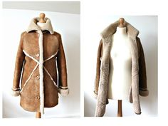 Sheepskin coat Winter Coat Shearling coat by StylishAgain on Etsy
