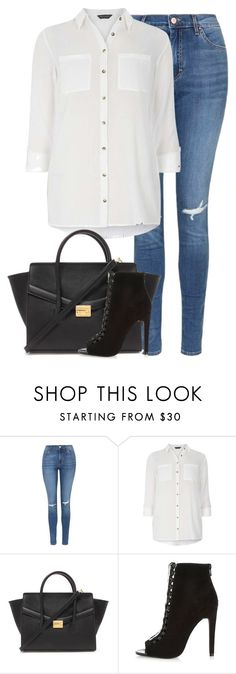 """""""Untitled #6997"""" by fanny483 ❤ liked on Polyvore featuring Topshop, Dorothy Perkins, Forever 21 and River Island"""
