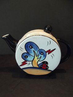 Lorna Bailey * BURSLEY HILL * Tea Pot * NEW & MINT * NEW *