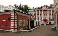 early 17th cent.Moscow.Palace in Chernigovsky Lane,Zamoskvorechye. Small chambers (left)