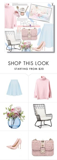 """""""Beautifulhalo.com"""" by mariamharrasova ❤ liked on Polyvore featuring WithChic, LSA International, Palecek, AX Paris, OPI and beautifulhalo"""