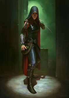 Assasin by Cristi Balanescu | Fantasy | 2D | CGSociety